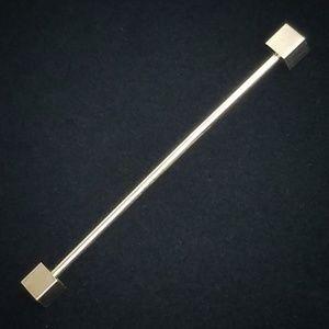Vintage Collar Stick Bar Cube Screw End